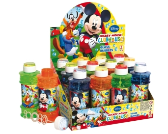 BAŃKI MYDLANE GLASS  MICKEY 300 ML. BRIMAREX