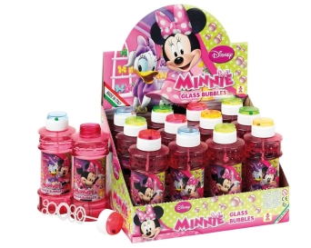 BAŃKI MYDLANE GLASS  MINNIE 300 ML. BRIMAREX